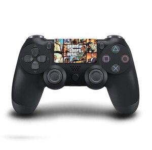 Image 3 - Autocollants en vinyle de pavé tactile de PVC faits sur commande pour Sony Dualshock 4 PS4 Pro/peau protectrice de Conroller de pavé tactile de contrôleur mince