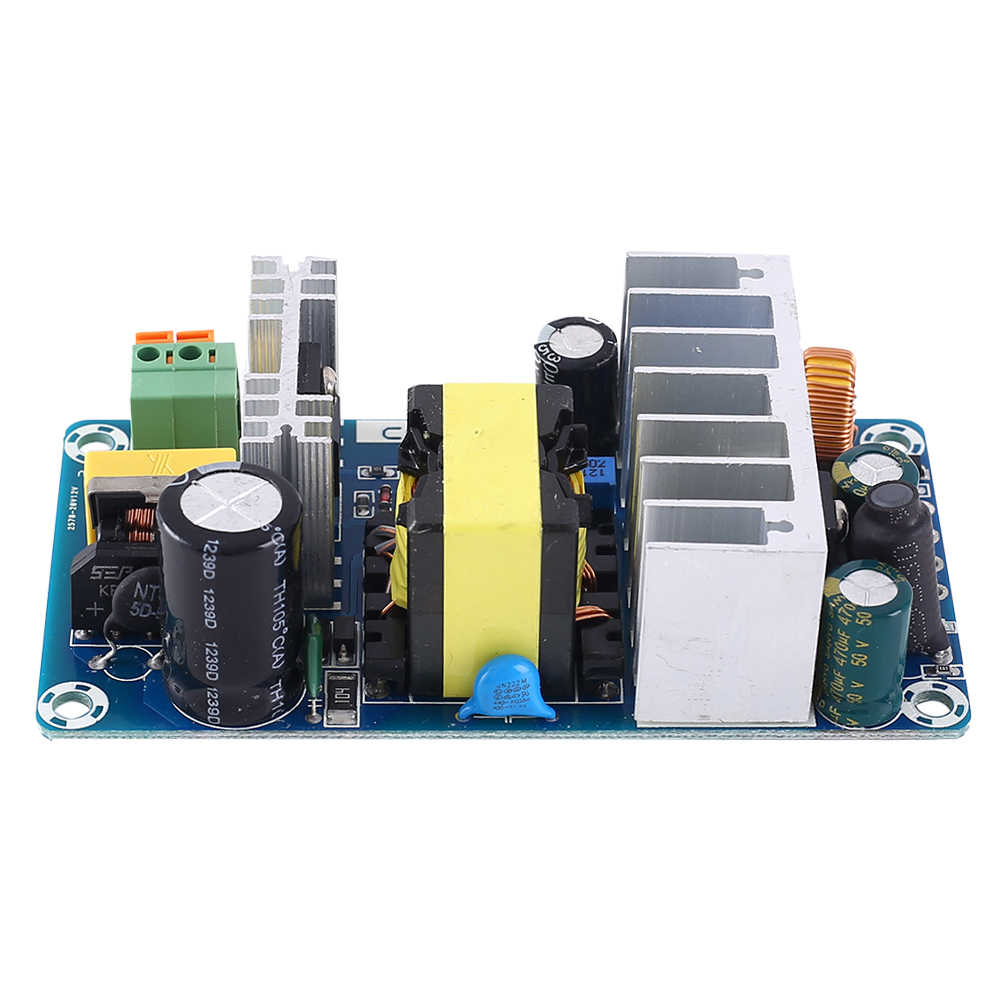 AC-DC Converter Dua Output Isolation Switch Power Supply Modul 110V 220V untuk 12V 24V 36V 100W Adjustable Buck Step Down Modul