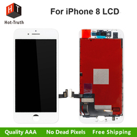 Hot Truth 2Pcs Lot For IPhone 8 LCD Display Touch Screen Digitizer Assembly Replacement Grade AAA