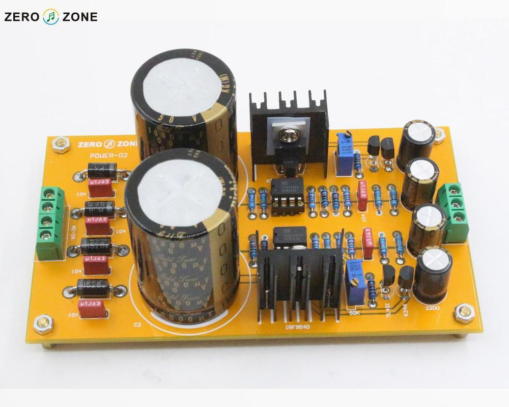 US $35 0 |GZLOZONE Upgraded POWER 02 Adjustable linear Power supply kit for  preamp DIY-in Amplifier from Consumer Electronics on Aliexpress com |