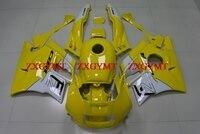 Наборы для тела CBR 600 F2 1991 1994 обтекатель CBR600 F2 1994 желтый Обтекатели из белого пластика CBR600F2 1992