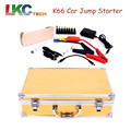 High Quality K66 Car Charger Portable Power Bank Car Jump Start 18000mAh Power Jump Starter with Multi-function + Carry Case