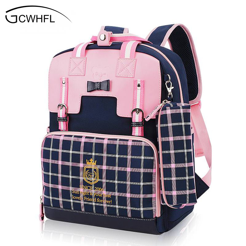 Waterproof Orthopedic Children School Bags For Girls School Backpacks Kids Gift Backpack Mochila School Bag Satchel Schoolbag