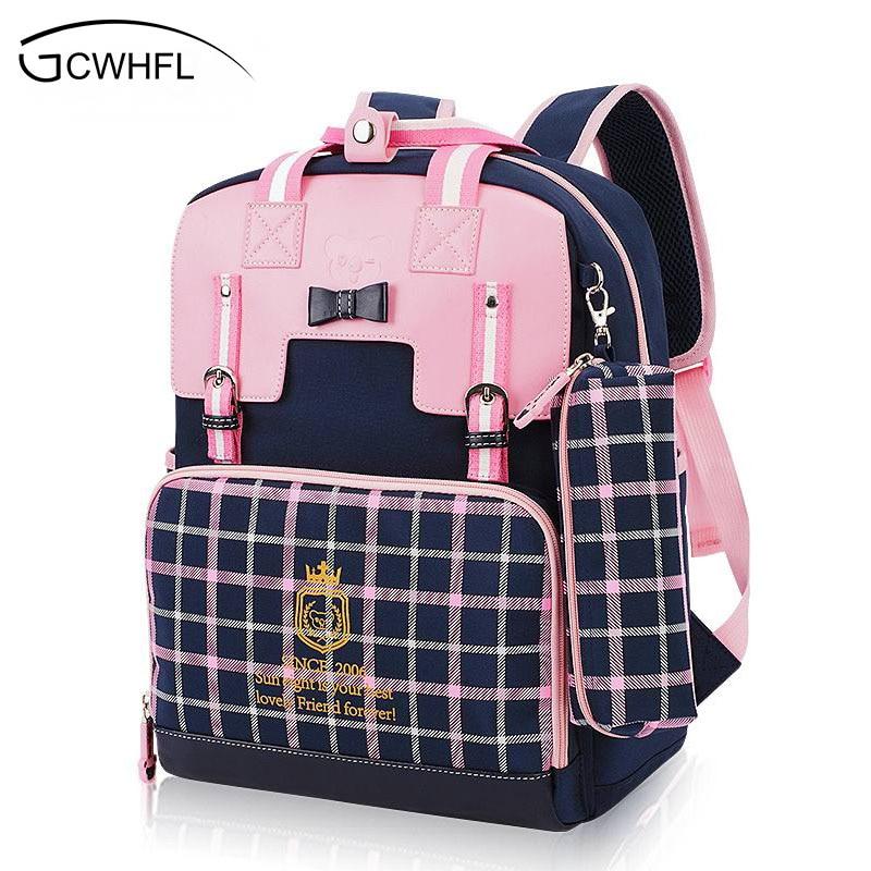 Waterproof Orthopedic Children School Bags For Girls School Backpacks Kids Gift Backpack Mochila School Bag Satchel Schoolbag