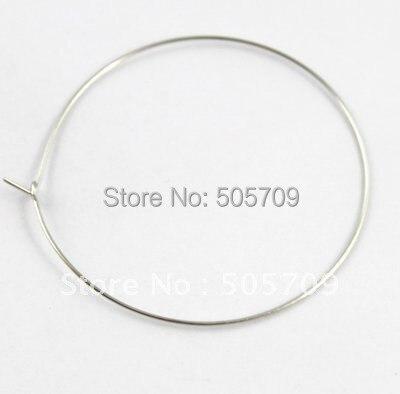 1500 шт шармы для Винных Бокалов Hoops провода 50 мм#20583