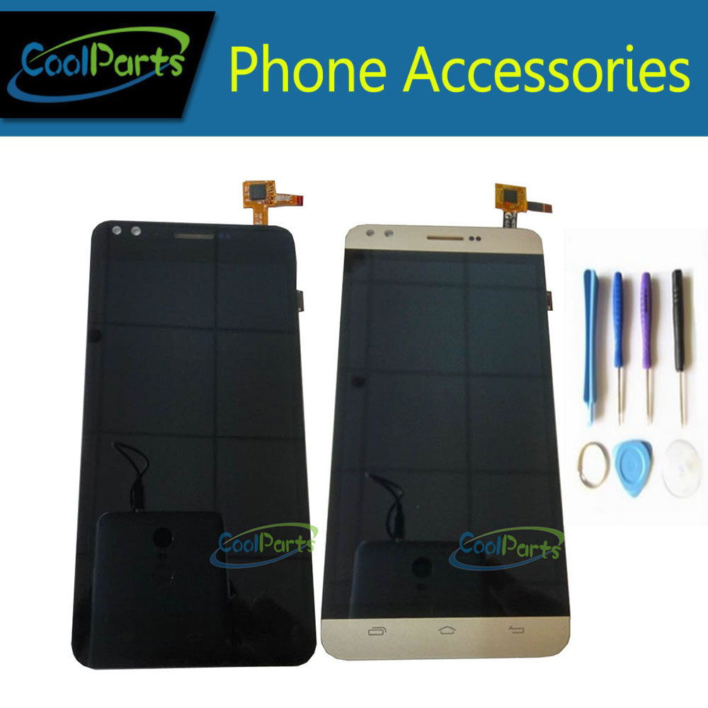 1PC/Lot High Quality For Prestigio Muze C3 PSP3504 PSP3504DUO LCD Display Screen +Touch Screen Digitizer+Tools Black Gold Color