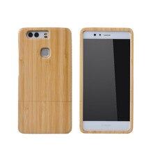 Для Huawei P9 случае древесины крышка телефона природа бамбука Корпус Деревянные Ручной Дерево Корпуса newoer