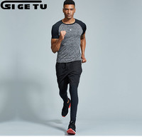 3 pcs compression tight sports suit For men Training Fitness short sleeve shirt and pants Men's Fitness Gym Running kit