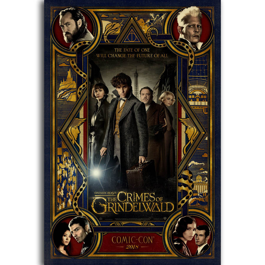 Buy fantastic beasts poster and get free shipping on AliExpress.com