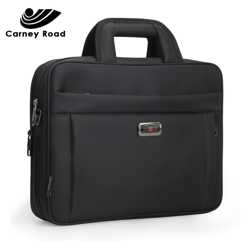 Famous Brand Business Men Briefcase Luxury 14 15.6 Inch Laptop Handbag Single Shoulder Office Bags For Men Business Bag