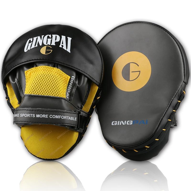 Muay Thai MMA Boxing Gloves Sandbag Punch Pads Taekwondo Arc Hand Target Focus Training Circular Mitts For Kick Fighting