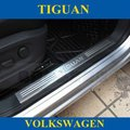 For VW 2010-2012 Tiguan,Stainless Steel Door Sill/Scuff Plate/Threshold,Free Shipping