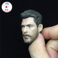 New 1:6 Scale Male Head Sculpt Thor Raytheon Gladiator Head Carving for 12 Action Figure