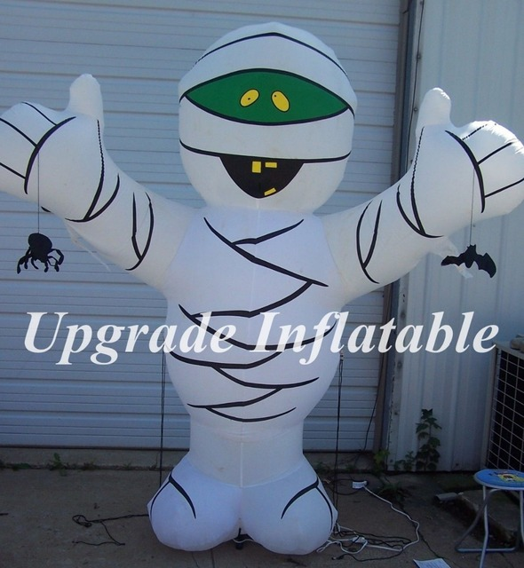 custom 8ft giant blow up halloween decoration inflatable mummy for festival