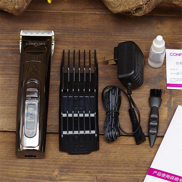 Cortadora de pelo eléctrica profesional T69 hoja de titanio batería de litio