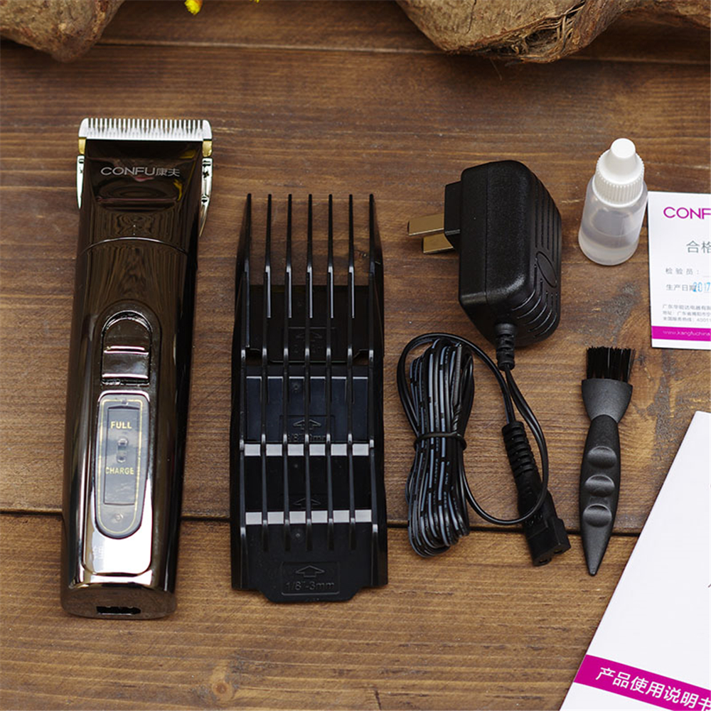 Profesional T69 de cabello eléctrica de titanio hoja de la batería de litio  de los hombres de barba de corte de pelo de la máquina de la familia en  Tijeras ... bb3c3de01996