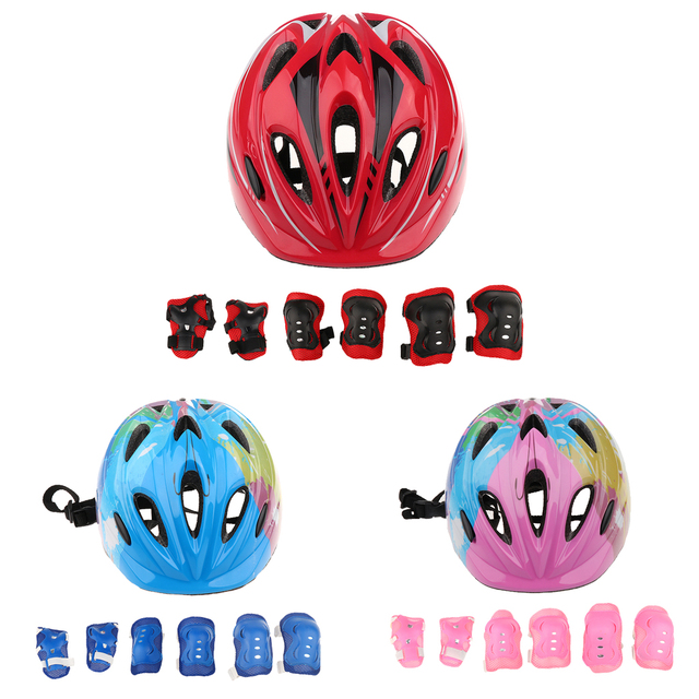 Bicycle Roller Skater Helmet Protection Safety Guard Cycling Pad