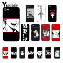 Yinuoda Sad Japanese Anime Aesthetic Naruto Custom Phone Case for iPhone 8 7 6 6S 6Plus X XS MAX 5 5S SE XR 10 Cover 11 pro max