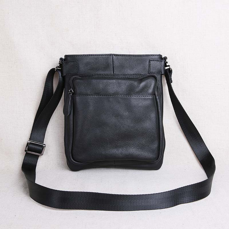 AETOO New leather men's bag shoulder bag men's Messenger bag head layer leather vertical section business casual youth diagonal цена