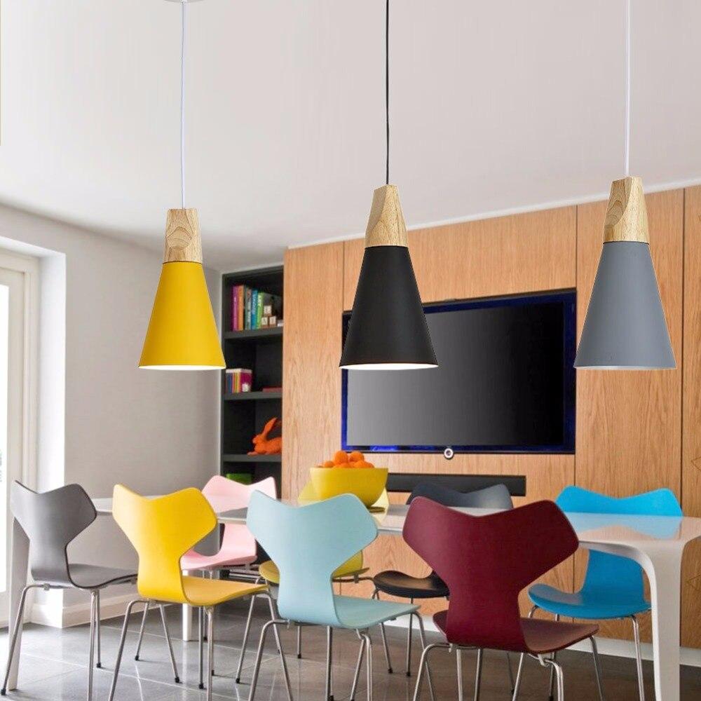 Aliexpress Vintage Pendelleuchten Aluminium Lampenschirm Lamparas Colgantes Fr Wohnzimmer Pendelleuchte Hause Beleuchtung Leuchten Von Verlsslichen