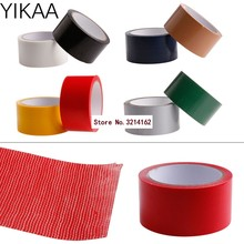 Excellent 10M x 50mm Waterproof Sticky Adhesive Cloth Duct Tape Roll Craft Repair 8 Color 07NOV(China)