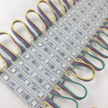 DC12V 5050 3 المصابيح LED وحدة IP65 مقاوم للماء 5050 RGB led وحدات الإضاءة led الخلفية ل قناة رسالة 1000 قطعة/الوحدة