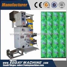 relay automatic sachets shampoo packaging machine