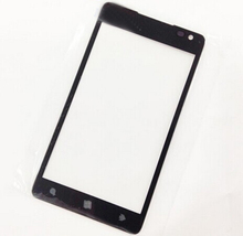 Grad A +++ Quality DHL Shipping 100pcs/lot Replacement Front Outer Glass Screen Lens For Nokia lumia 900 n900 with logo