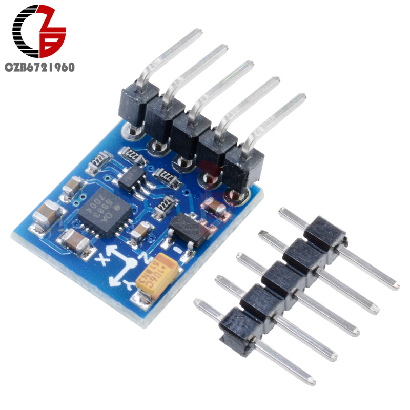 HMC5883 GY-271 3V-5V Triple Axis Compass Magnetometer Sensor Module for Arduino hmc5883l digital triple axis magnetometer compass sensor module red white
