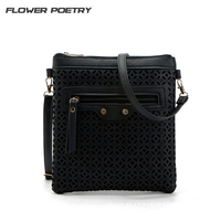 FLOWER POETRY Fashion Women Leather Messenger Bag Handbag Ladies Small Crossbody Bags Famous Brands Designers Shoulder