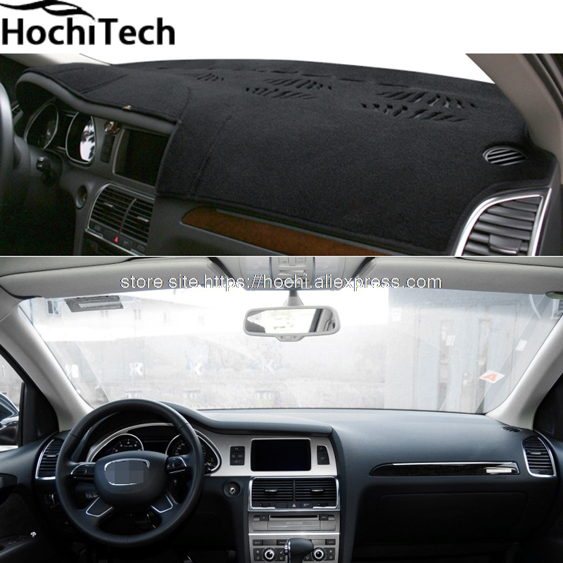 for audi Q7 2006 - 2015 dashboard mat Protective pad Shade Cushion Photophobism Pad car styling accessories виниловая пластинка чиж