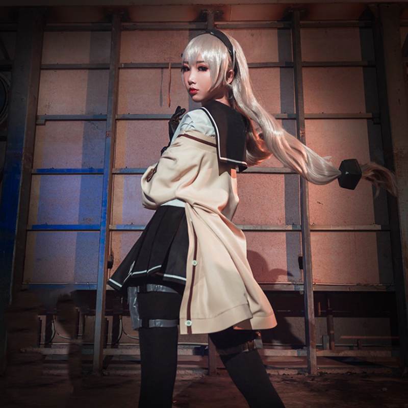 Game Girls Frontline Cosplay Costumes MG4 Cosplay Uniform Costume Halloween Carnival Party Women Cosplay Costume