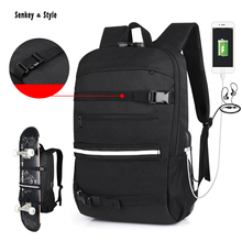 цена Senkey &Style Outdoor Backpack Men Business Waterproof Computer Schoolbag Large-capacity Travel Bagpack Oxford Student Backpacks онлайн в 2017 году