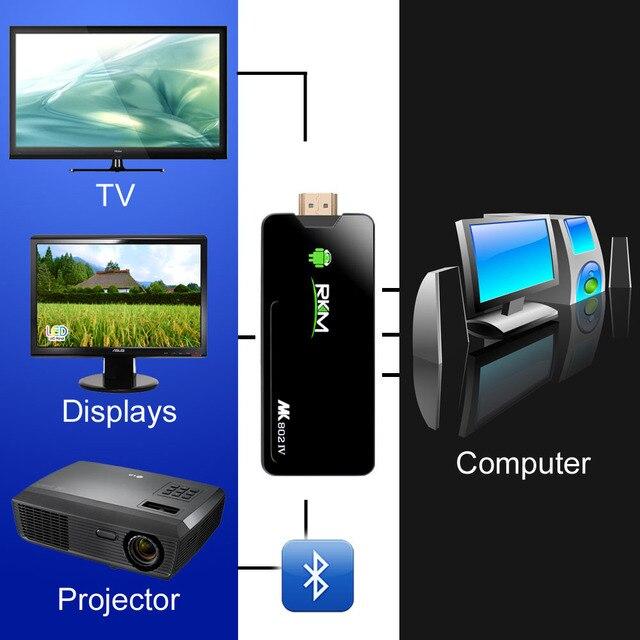 MK802IV RK3188 Quad Core Android 4.2 TV Box mini PC HDMI PC 2GB RAM(US Plug)