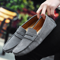 2016 Fashion Summer Style Soft Moccasins Men Loafers High Quality Brand Genuine Leather Shoes Men's Flats Gommino Driving Shoes