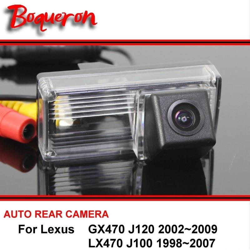 все цены на For Lexus GX 470 GX470 LX 470 LX470 00-09 Night Vision Rear View Camera Reversing Camera Car Back up Camera HD CCD Wide Angle онлайн