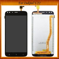 100% Working Well For Oukitel U22 LCD Display+Touch Screen Screen Digitizer Assembly for u 22 LCD U22 display Repair Parts