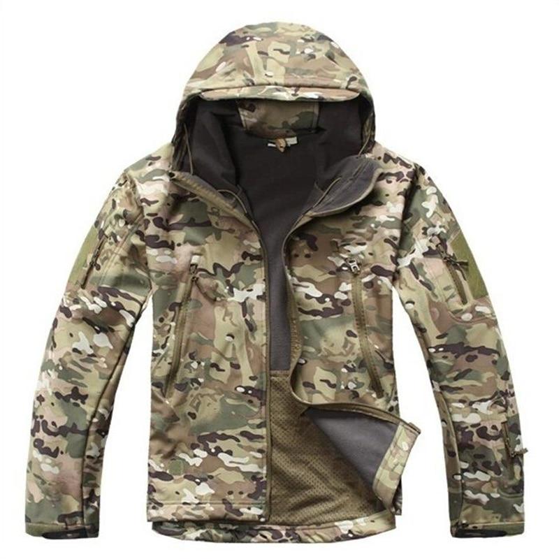 Мужская куртка-ветровка TAD V 4,0, водонепроницаемая, с мягкой оболочкой в стиле милитари, 2019