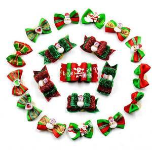 20 PCS Christmas Santa Hat Dog