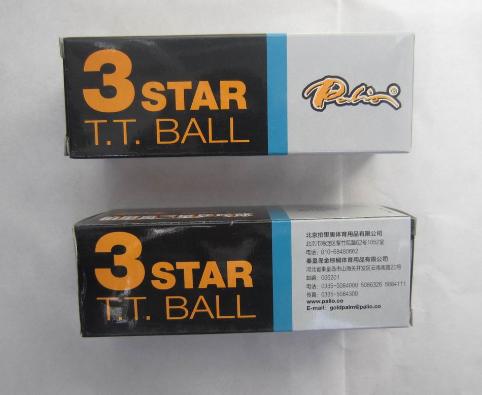 Original palio 40 edition seamless table tennis ball wholesales total 6pieces table tennis rackets racquet sports
