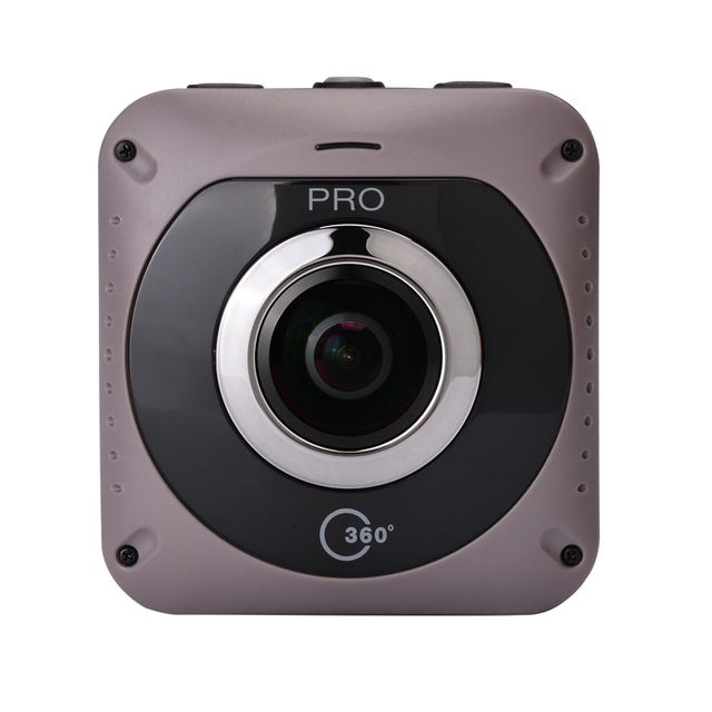Free Shipping VR Virtual Reality Dual Lens Camera 360d Pro Action Camera 1080 Panoramic Wifi Fixed Focus