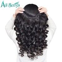 Ali Berrys Hair Loose Wave Brazilian Hair Weave Bundles Free Shipping Human Hair Extensions 8 28