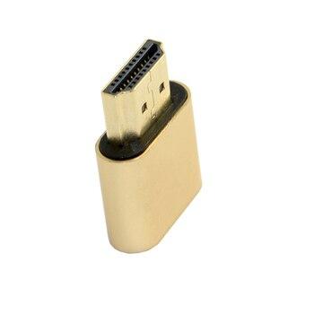 10pcs/lot  Virtual Display Adapter HDMI 1.4 DDC EDID Dummy Plug Headless Ghost Display Emulator 1920x1080p@60Hz