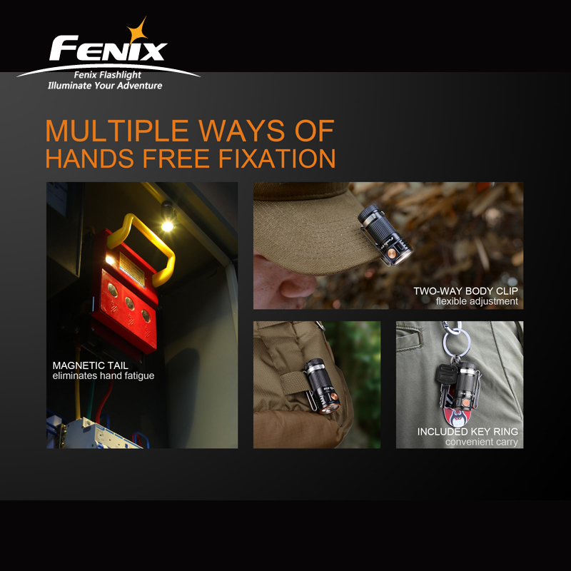 Image 4 - 700 Lumens Portable Fenix E16 Cree XP L HI Neutral White LED EDC Flashlight with outstanding Performance-in Flashlights & Torches from Lights & Lighting