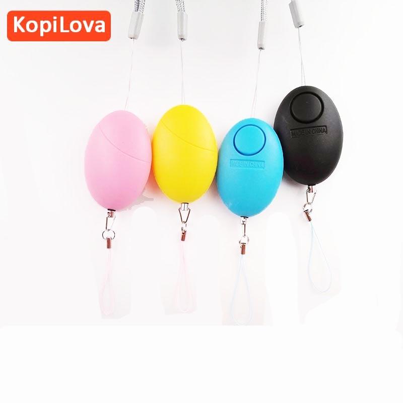 KopiLova 10pcs Self Defense Personal Alarm Anti Rob Alarm 120dB Attack Protection Security Saftey Alarm For Women Elderly Kids