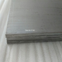 Astm b265 Титан ti6al4v Класс 5 Таблички лист, 2 мм * 400 мм * 560 мм Бесплатная доставка