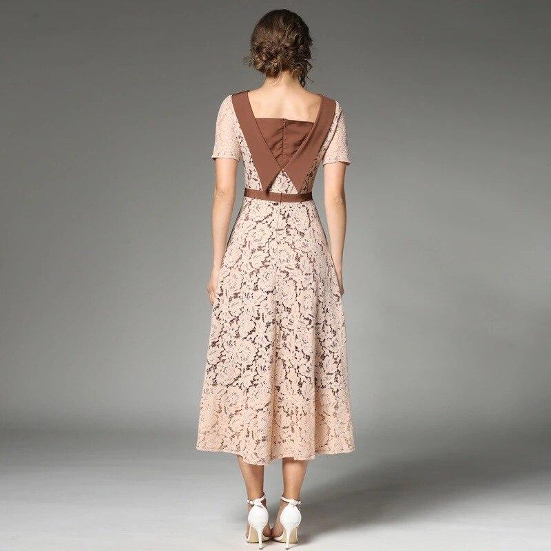 Lange kleid h&m