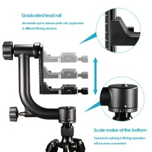 Panoramic Gimbal Tripod Head