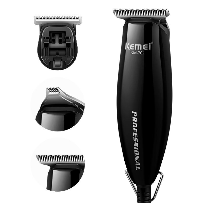 Kemei KM-701 Hair Clipper professional Haircut graphic carving Limit Combs Shaver Modelling Hair Trimmer Razor free shipping kemei professional precision cordless hair clipper for men hair cutter with 7 pcs limit combs and 2 batteries