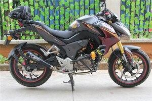 Image 5 - 51MM uniwersalny motocykl wydechowy tłumik M4 tłumik rury dla Honda CBR1000 YA001 Yamaha R6 Kawasaki M4 wydechowy pqg